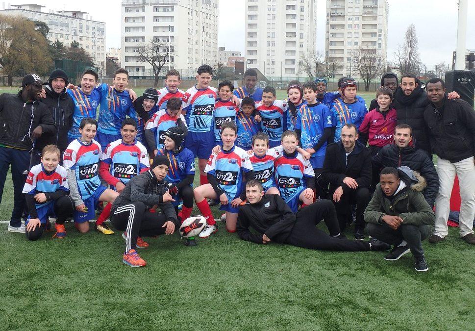 MINIMES (U14) – amical : Les Lions de LYON METROPOLE XIII dominent Marseille