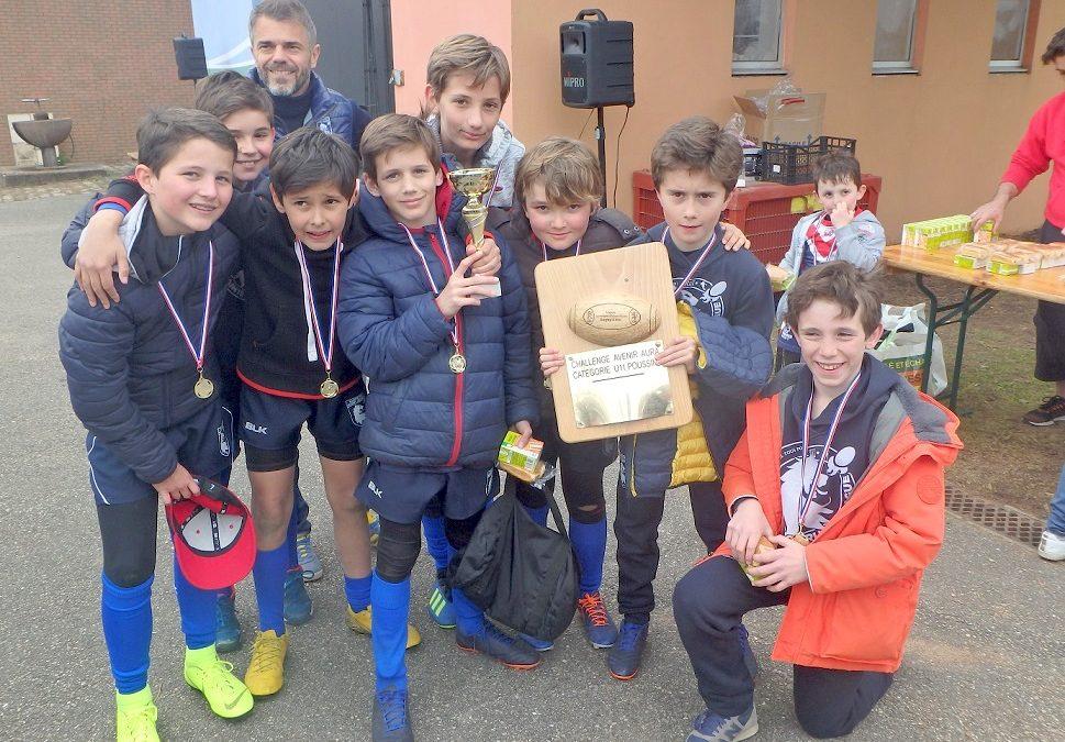 Succès de la sixième étape du Challenge Avenir AURA des écoles de rugby à XIII à Caluire