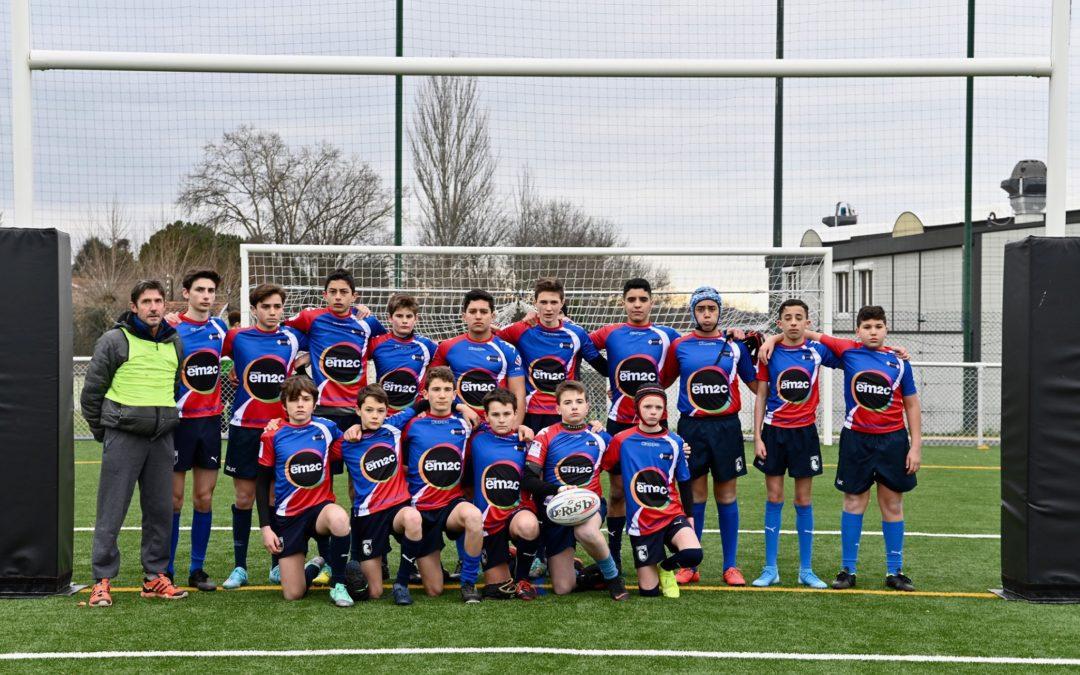 COUPE DE FRANCE U15 (8èmes) : Sainte Foy-lès-Lyon élimine Lézignan 28-10